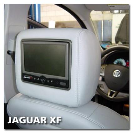 Jaguar XF Rear Seat Entertainment Set