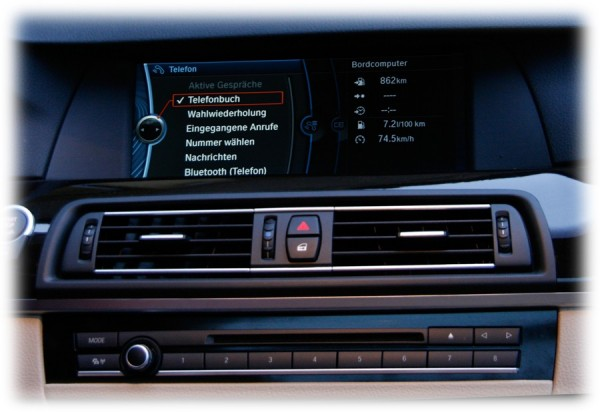 KUFATEC FISCON für BMW ''Pro'' F-Serie ohne USB Schnittstelle in Armlehne