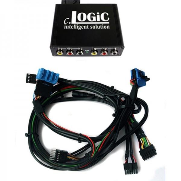 Multimedia Interface cLOGiC für BMW MK3&4 Systeme incl. Kabelsatz für Fahrzeuge