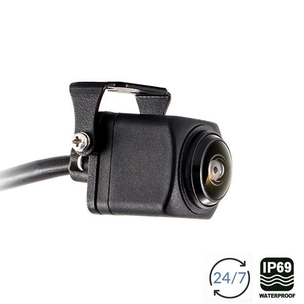 AMPIRE Ultra-Weitwinkel Farbkamera für den Fronteinbau, IP69K