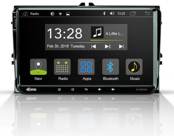 Radical R-C10VW1 Fahrzeugspezifischer Android Infotainer für VW