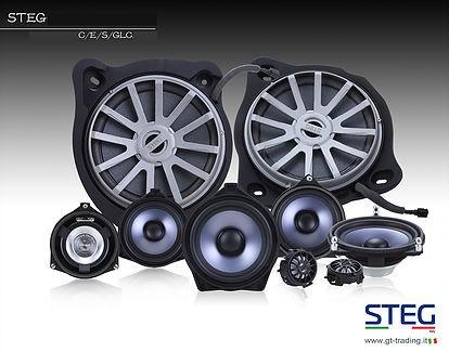 Mercedes GLC Soundsystem Steg
