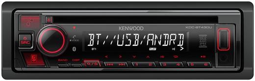 KENWOOD KDC-BT530U Bluetooth MP3-Radio mit USB