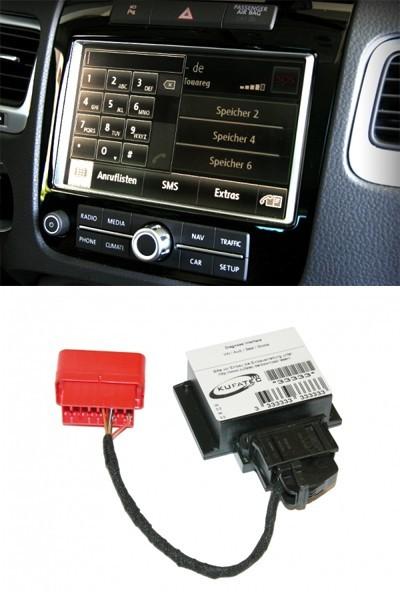 Handyvorbereitung Bluetooth VW Touareg 7P