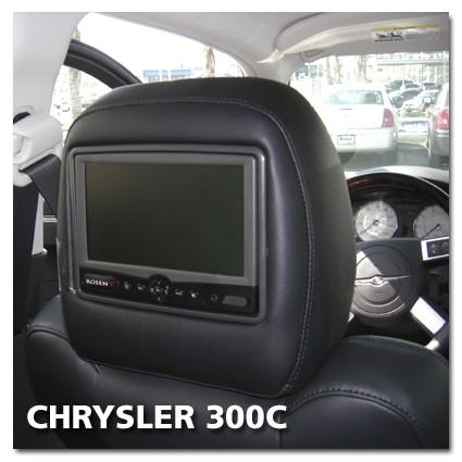 Chrysler 300C Rear Seat Entertainment Set